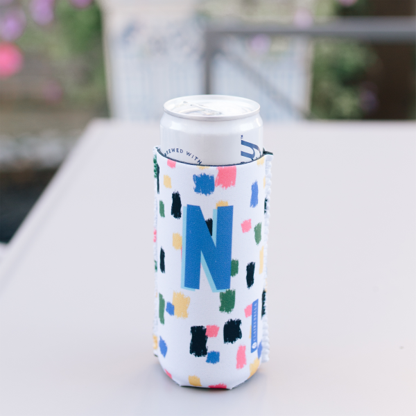 Anything But Ordinary Leopard Pink Can Cooler