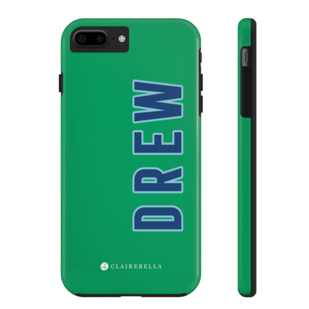 iPhone Tough Case 7/8 Plus Solid Green