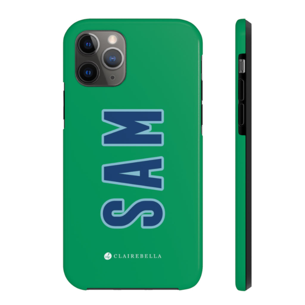 Solid Green iPhone 12/12 Pro Case