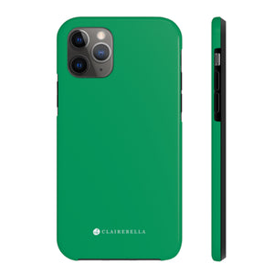 iPhone Tough Case 11 Pro Solid Green