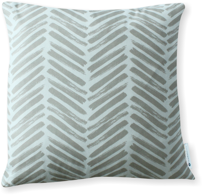 Luxe Herringbone Sand Pillow Cover