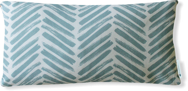 Luxe Herringbone Spa Pillow