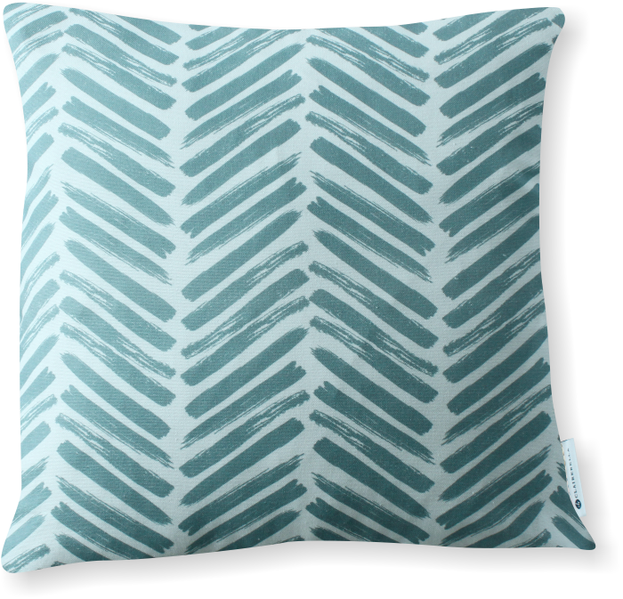 Luxe Herringbone Spa Pillow Cover