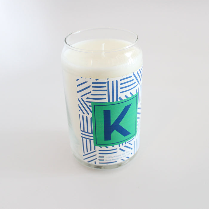 Alphabet Candle - Mod About You Stripes