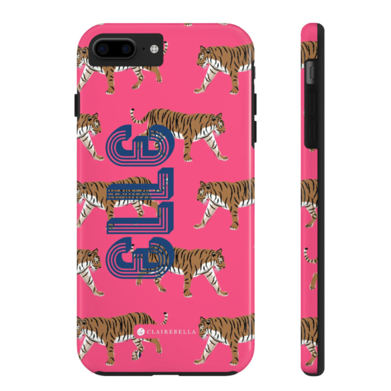 iPhone Tough Case 7/8 Plus Tiger Pink