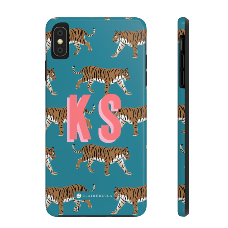 iPhone Tough Case X/XS Tiger Blue