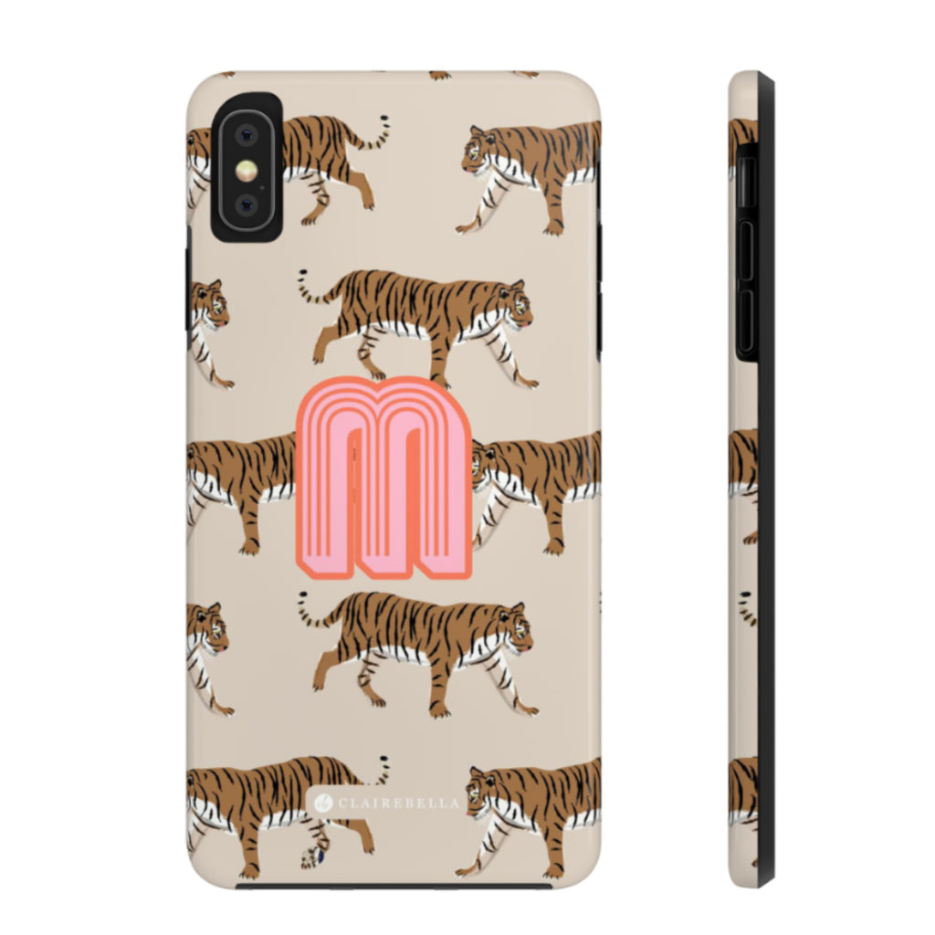 iPhone Tough Case XR Tiger Natural