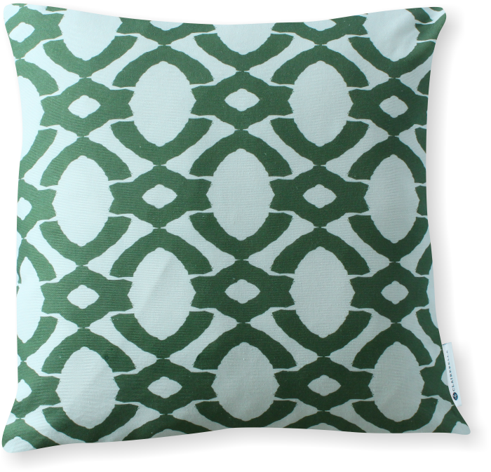 Luxe Langley Green Pillow Cover