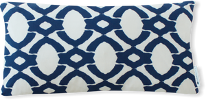 Luxe Langley Cobalt Pillow