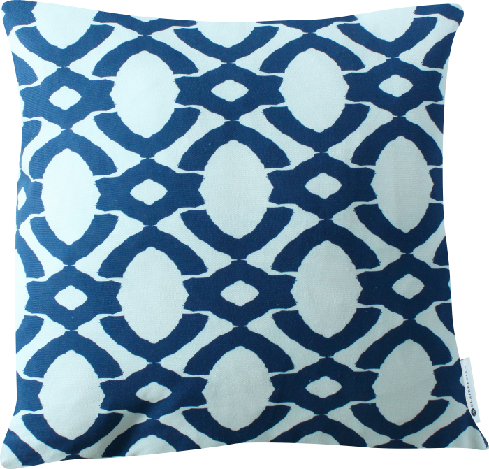 Luxe Langley Cobalt Pillow Cover