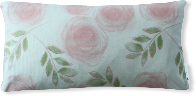 Luxe Le Jardin Blush Pillow Cover
