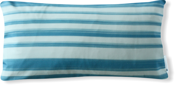 Luxe Le Jardin Stripe Blue Pillow