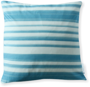 Luxe Le Jardin Stripe Blue Pillow Cover