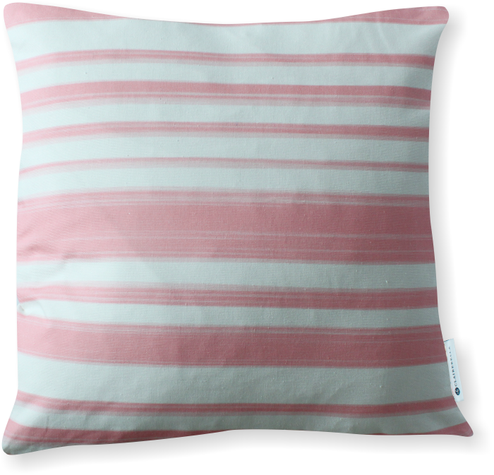 Luxe Le Jardin Stripe Pink Pillow Cover