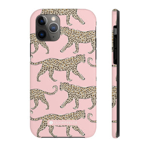 iPhone Tough Case 11 Leopard Blush