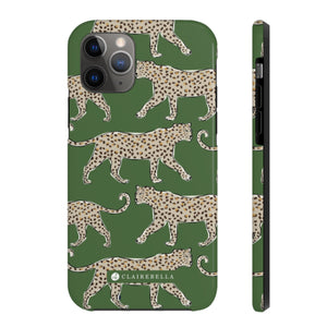 iPhone Tough Case 11 Leopard Green