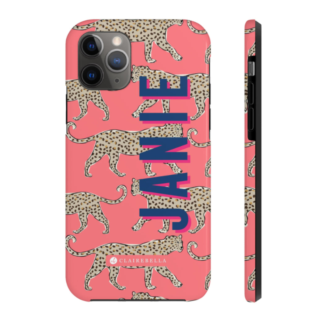 Leopard Coral iPhone 12/12 Pro Case