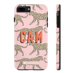 iPhone Tough Case 7/8 Plus Leopard Blush