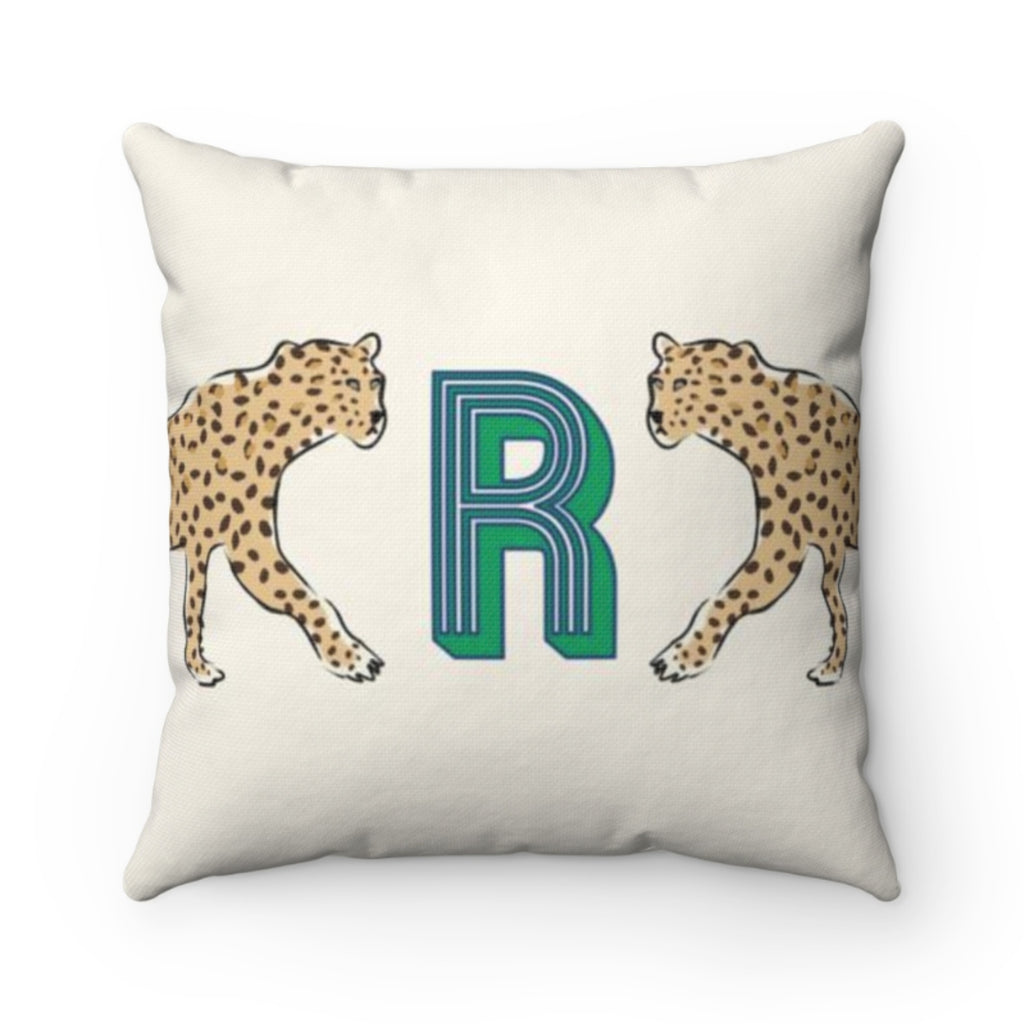 Leopard Duo Outdoor Pillow