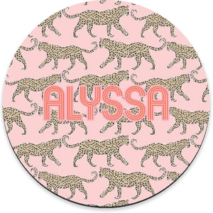 Leopard Blush Mousepad