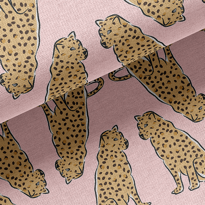 Leopards at Rest Fabric