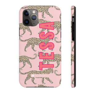 iPhone Tough Case 11 Pro Max Leopard Blush