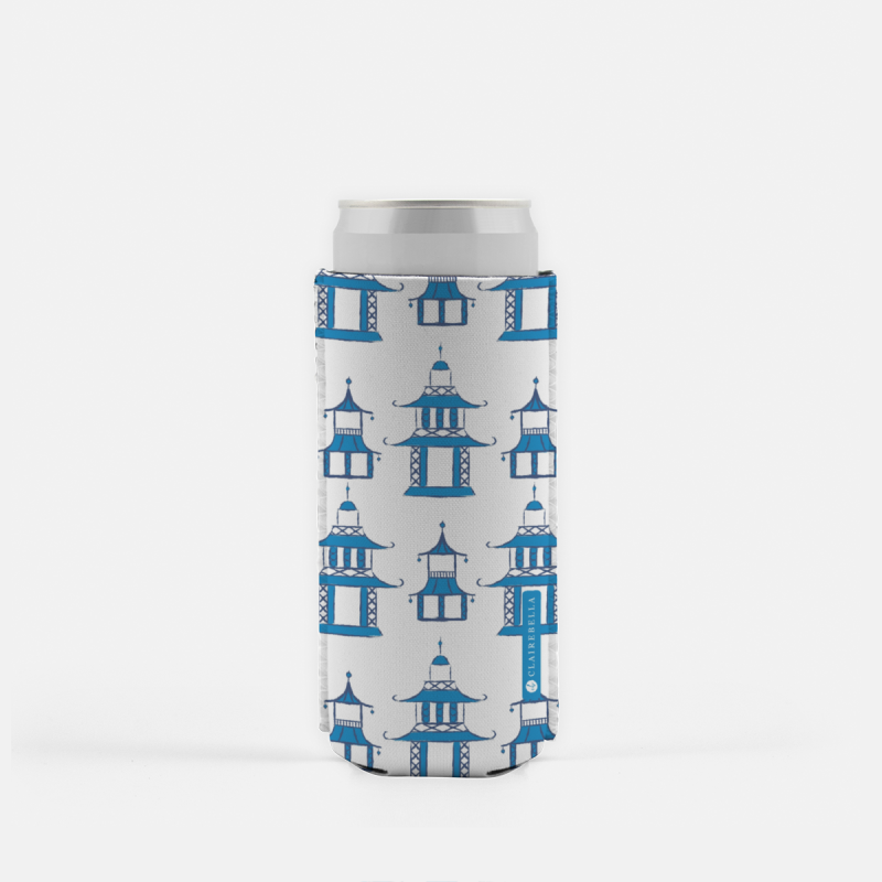 Pagoda Slim Can Cooler