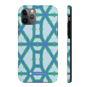 iPhone Tough Case 11 Pro Bamboo Blue