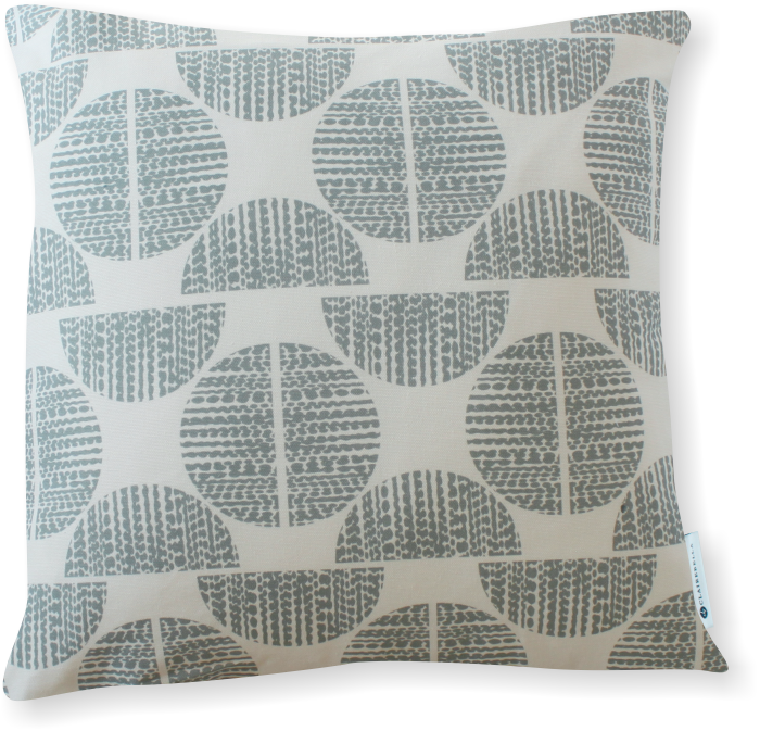 Luxe Moondance Blue Gray Pillow Cover