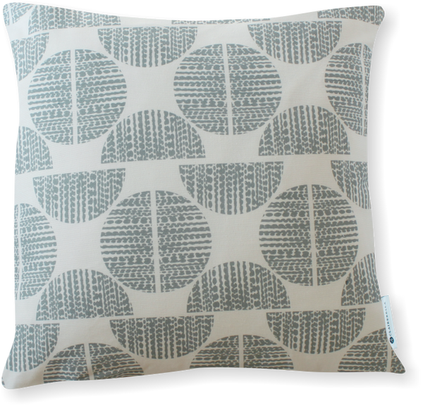 Luxe Moondance Blue Gray Pillow