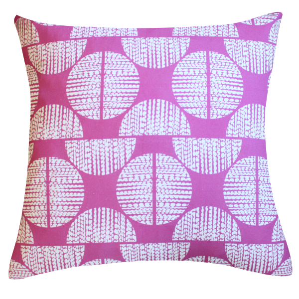 Moondance Orchid Pillow by Clairebella