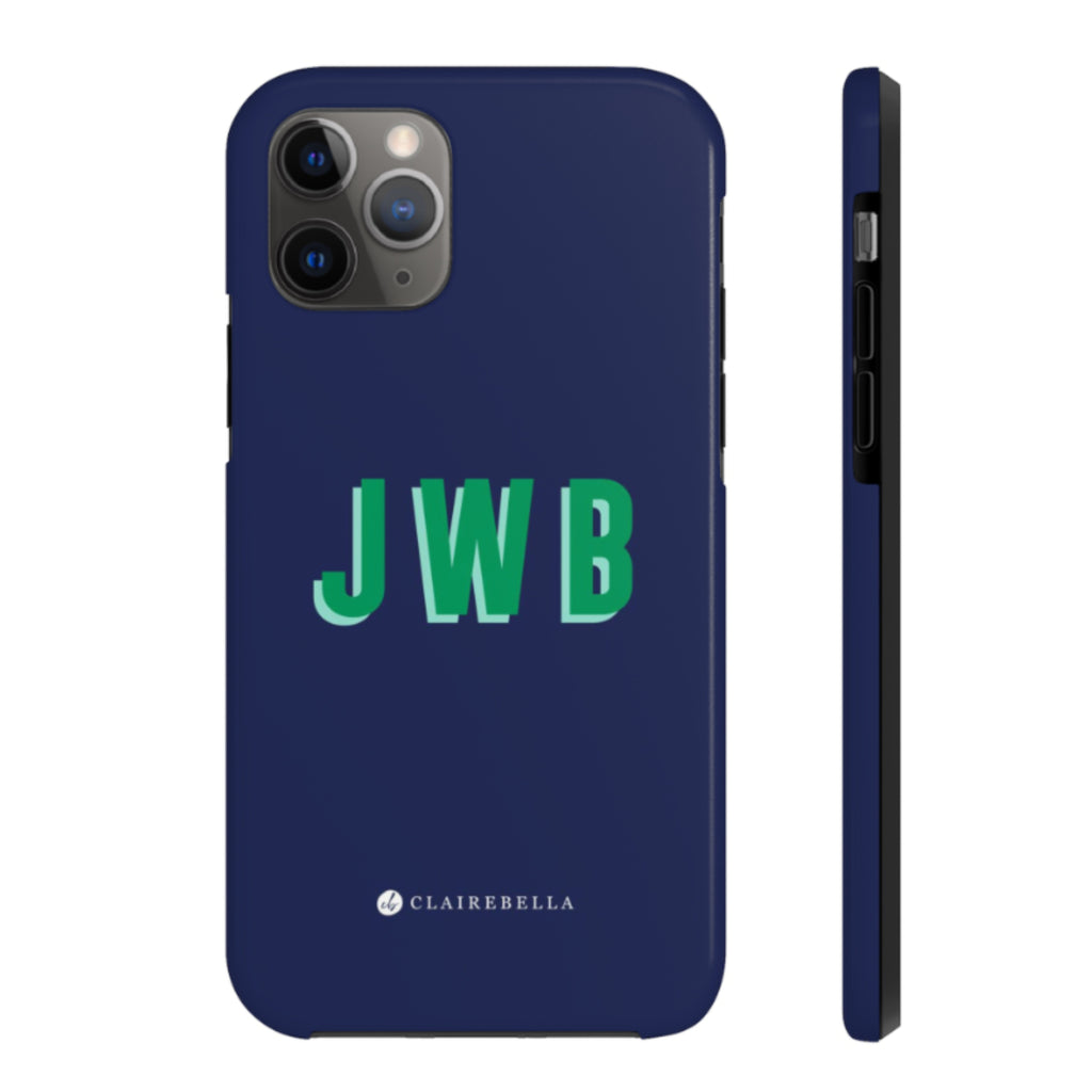 iPhone Tough Case 11 Solid Navy