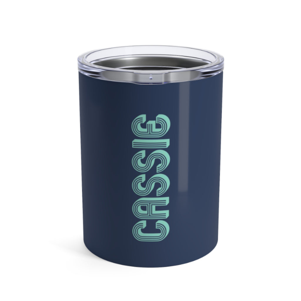 Small Solid Navy Tumbler