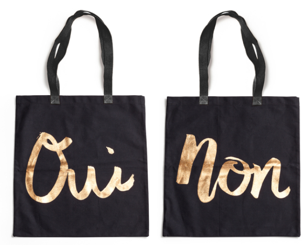 Ladies Choice Oui/Non Tote