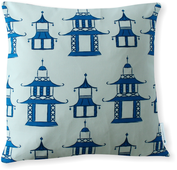 Luxe Pagoda Pillow