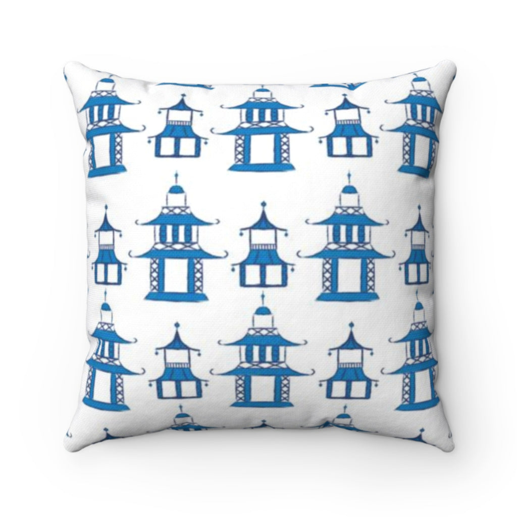 Pagoda Pillow Cover