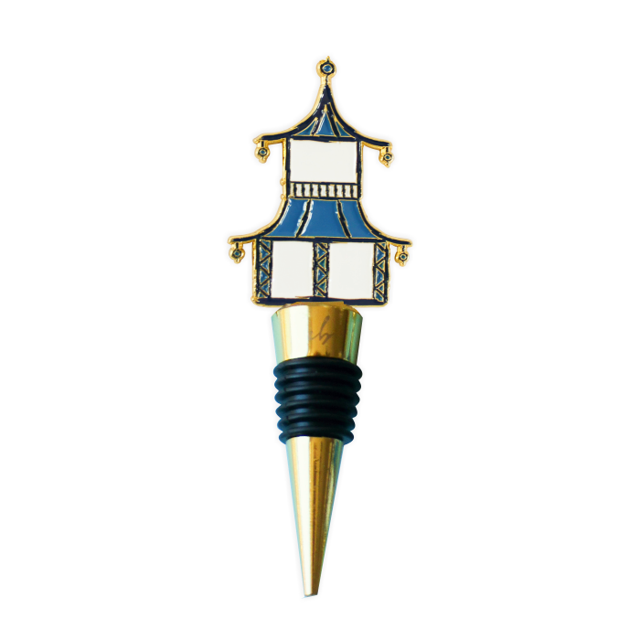Pagoda Wine Bottle Stopper