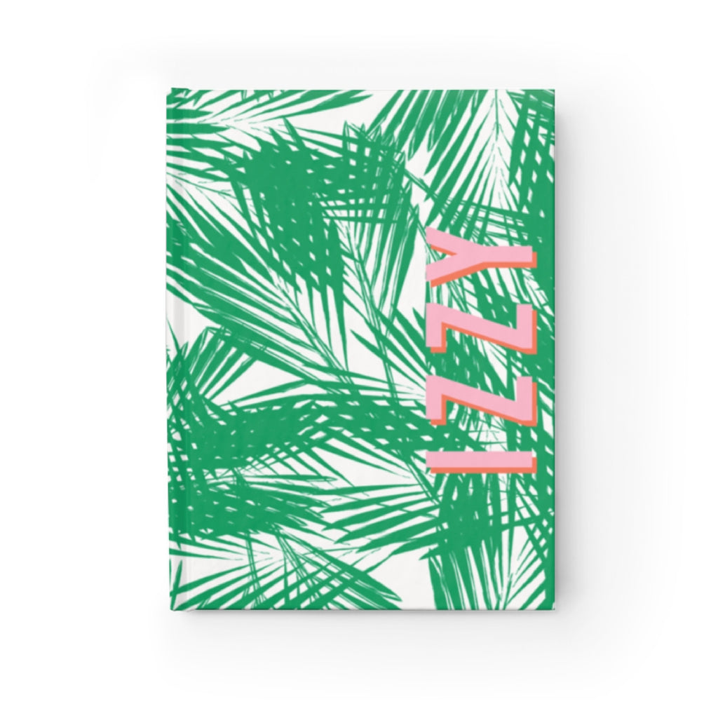 Palm Leaves Green Journal