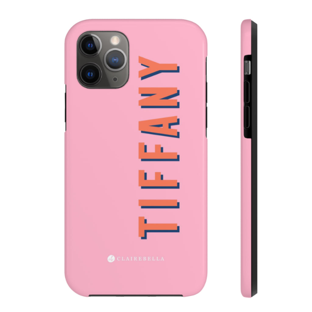 iPhone Tough Case 11 Pro Max Solid Pink