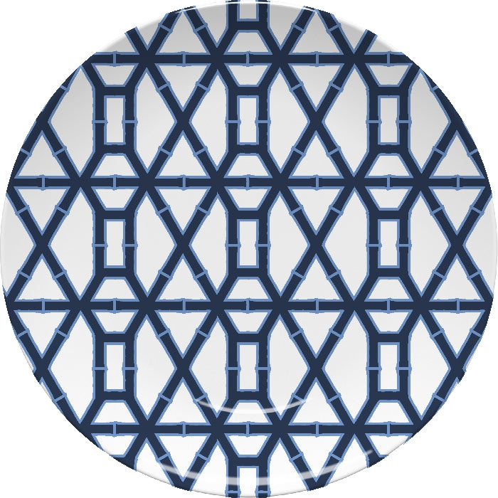 Bamboo Navy Plate