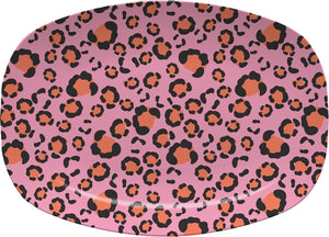 Anything But Ordinary Leopard Pink Platter