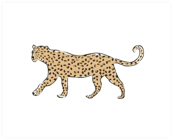 Leopard on the Prowl Art Print