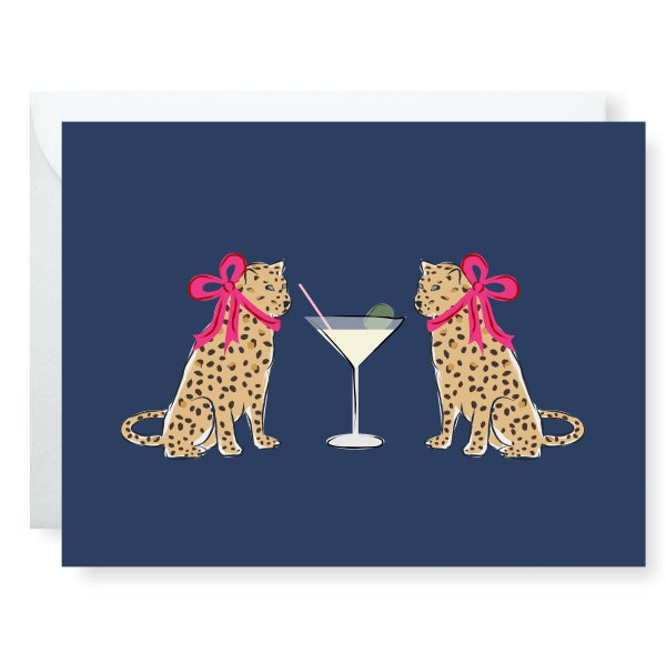 Purr Me Another Greeting Card