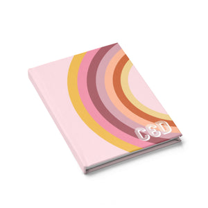Rainbow Pink Journal