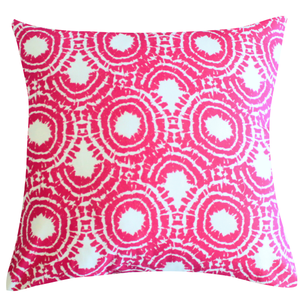 Rhapsody Sangria Pillow by Clairebella
