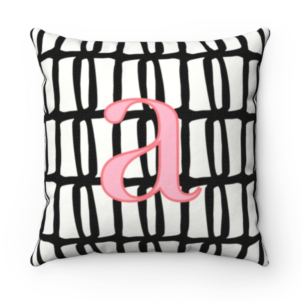 Riley Black Pillow Cover