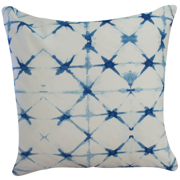 Shibori Pillow by Clairebella
