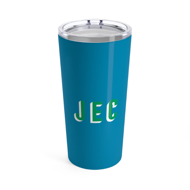 Large Solid Blue Tumbler