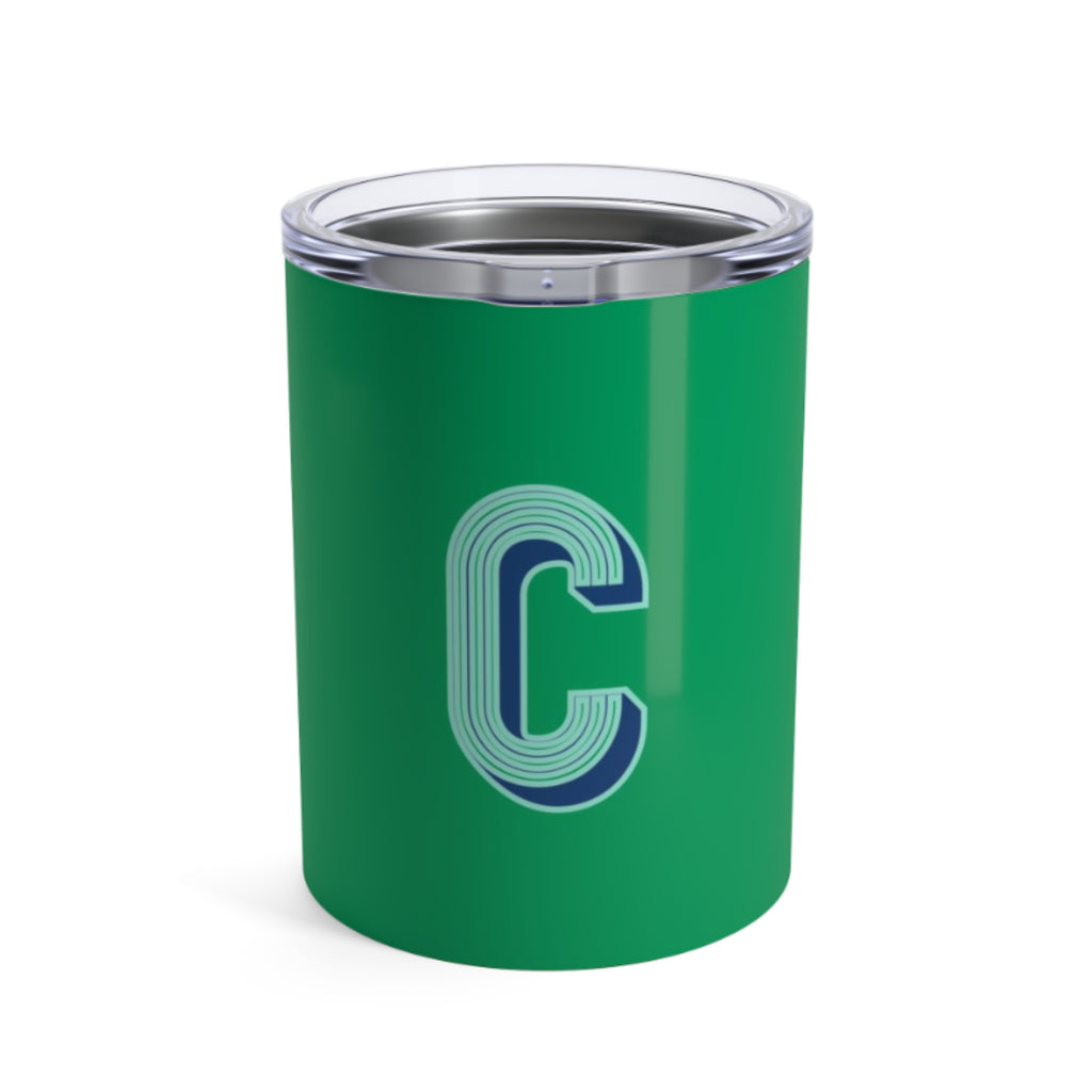 Small Solid Green Tumbler