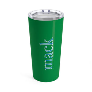 Large Solid Green Tumbler